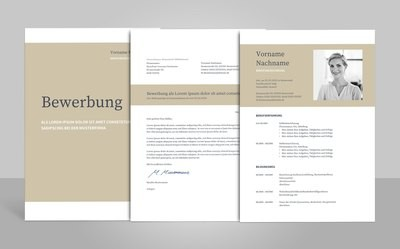 Bewerbungsvorlage Napea (für Word, OpenOffice und Google Docs)
