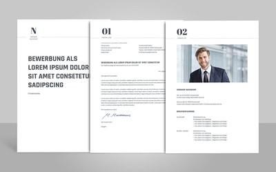 Bewerbungsvorlage Novus (für Word, OpenOffice und Google Docs)