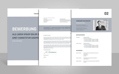 Bewerbungsvorlage Titanus inklusive Anleitungen (für Word, OpenOffice und Google Docs)