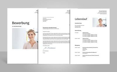 Bewerbungsvorlage Albus (für Word, OpenOffice und Google Docs)