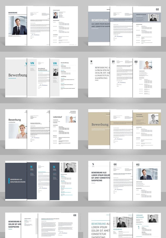 Alle 10 Bewerbungsvorlagen zum günstigen Paketpreis (für Word, OpenOffice und Google Docs)
