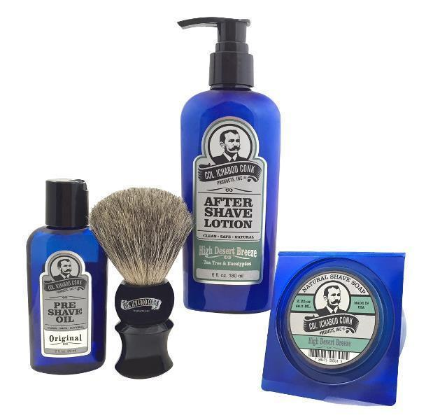 HIGH DESERT BREEZE SHAVE KIT with Soap #4023