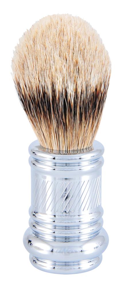 MERKUR SHAVE BRUSH-CHROME #38001