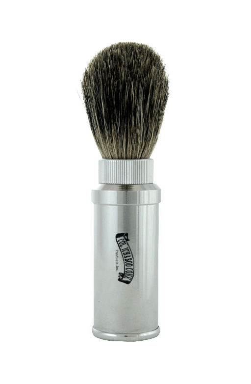 MIXED BADGER ALUMINUM TRAVEL BRUSH #915