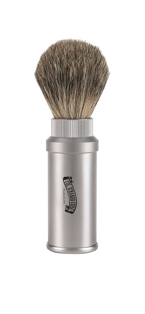 PURE BADGER ALUMINUM TRAVEL BRUSH #914