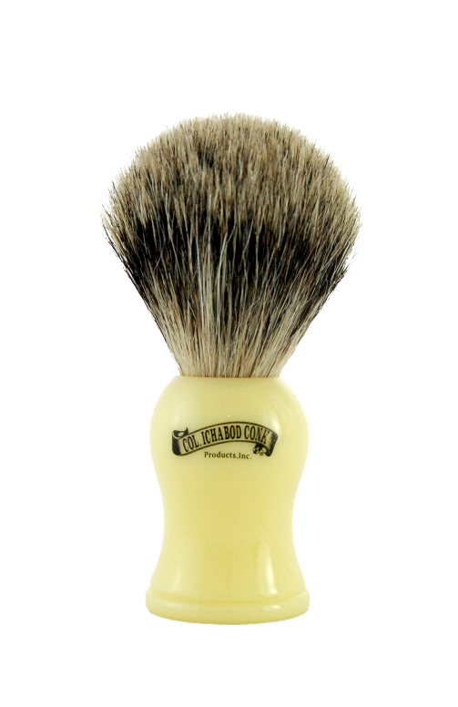 PURE BADGER FAUX IVORY BRUSH #907