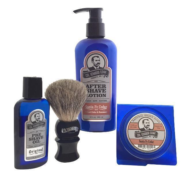 SANTA FE CEDAR SHAVE KIT with Soap #4021