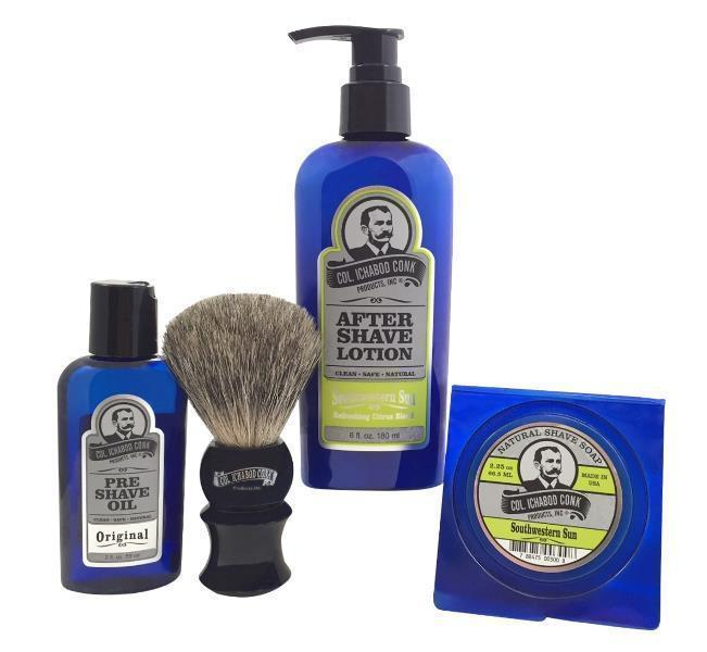 SOUTHWESTERN SUN SHAVE KIT with Soap #4022