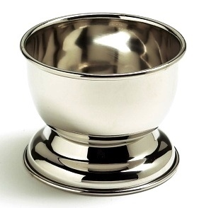 STAINLESS STEEL SHAVE CUP  #917
