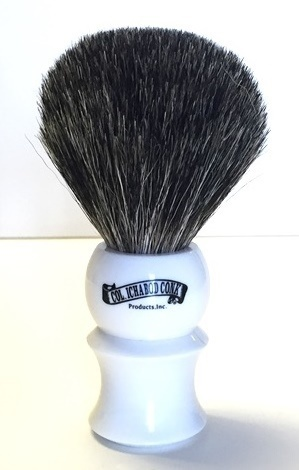 MIXED BADGER WHITE BRUSH #906