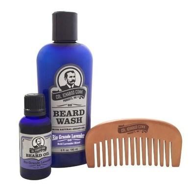 Rio Grande Lavender & Sm. Comb Beard Kit #4040