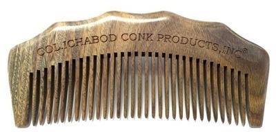 LARGE SANDLEWOOD BEARD COMB #336