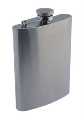 MATTE FINISH 9 OZ. FLASK  #1509