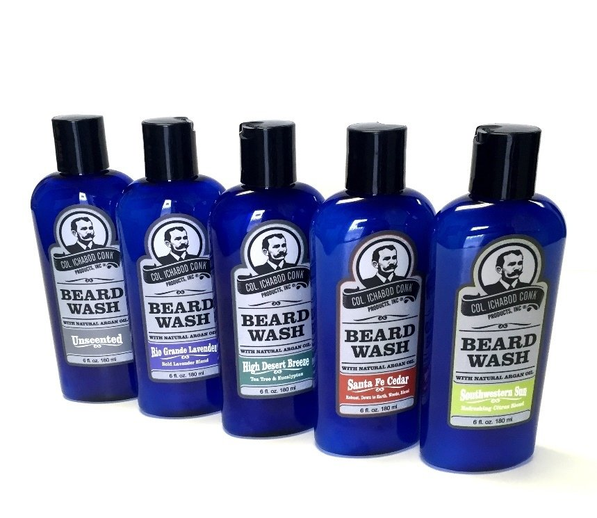 Natural Beard Wash - 5 Scents Available