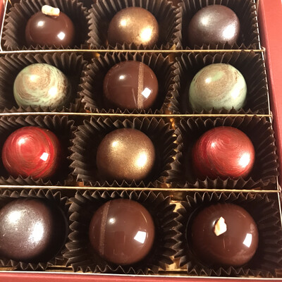 Pralinen Sweet Mix - Box 12er