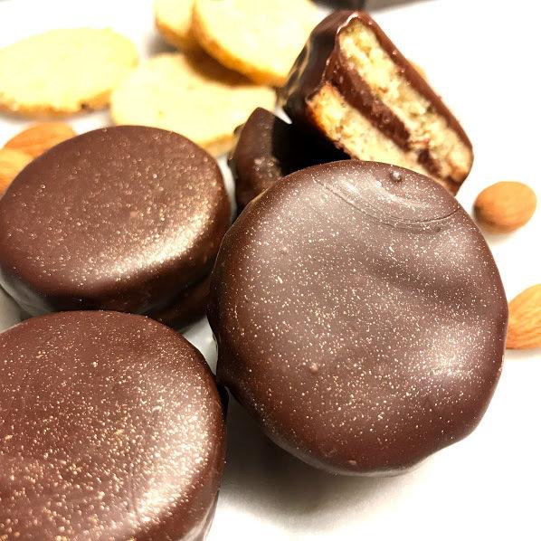 True Love Mandeln Cookies - Box 12er