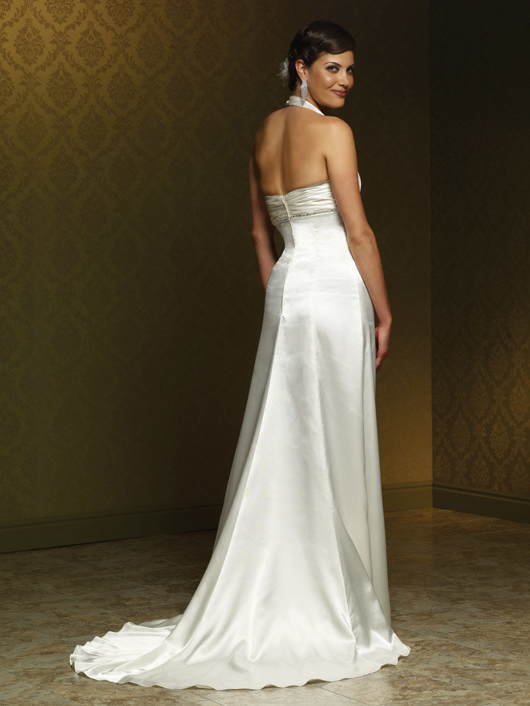 Mia Solano Charmeuse Wedding Gown | Wedding Gowns | Store - Once ...