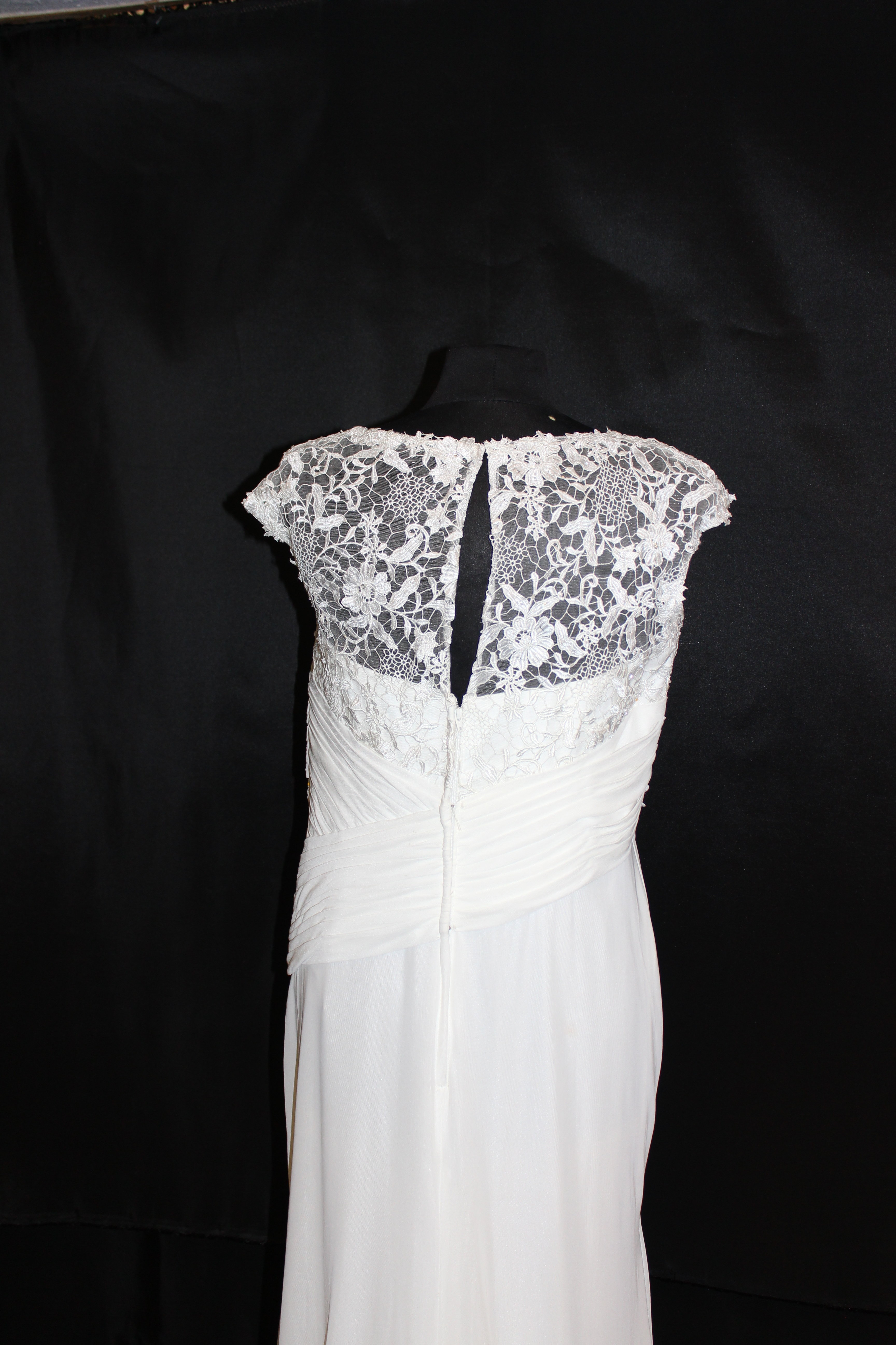 Cameron Blake V-Neck Lace Wedding Gown | Wedding Gowns | Store ...