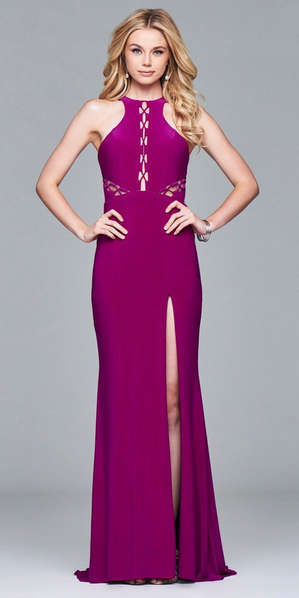 Fitted Long Dress Faviana Once Worn Prom Dress Prom And Homecoming