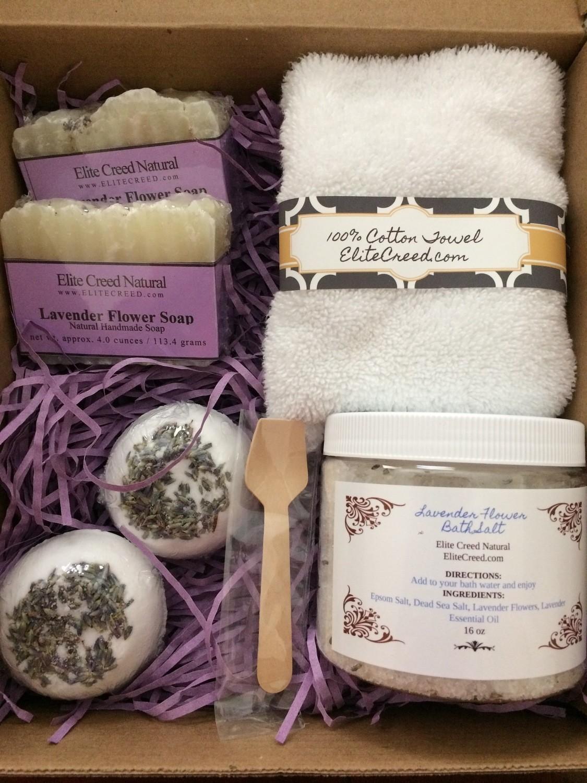 Handmade Soap Gift Bath Sets