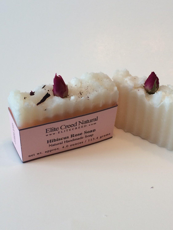 Hibiscus Rose Handmade Soap