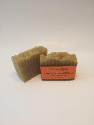 Citrus Coconut Handmade Soap
