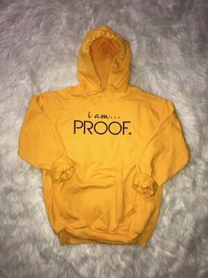 """Gold """"i am Proof"""
