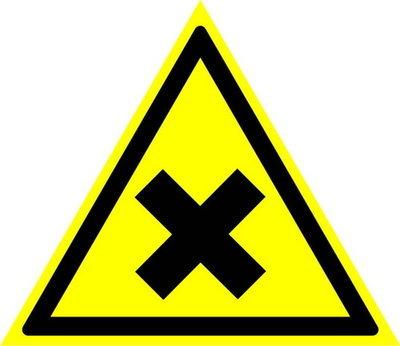W18 Осторожно! Вредные для здоровья аллергические (раздражающие) вещества