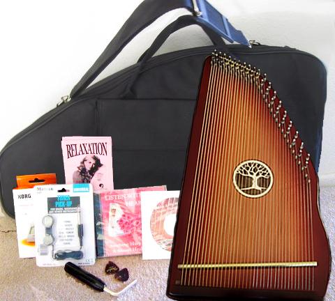 Redwood Symphony Harp Complete Set 000001