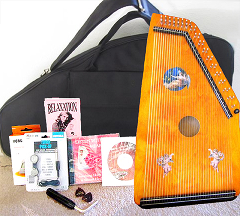 Blonde Maple Harp Complete Set 000002