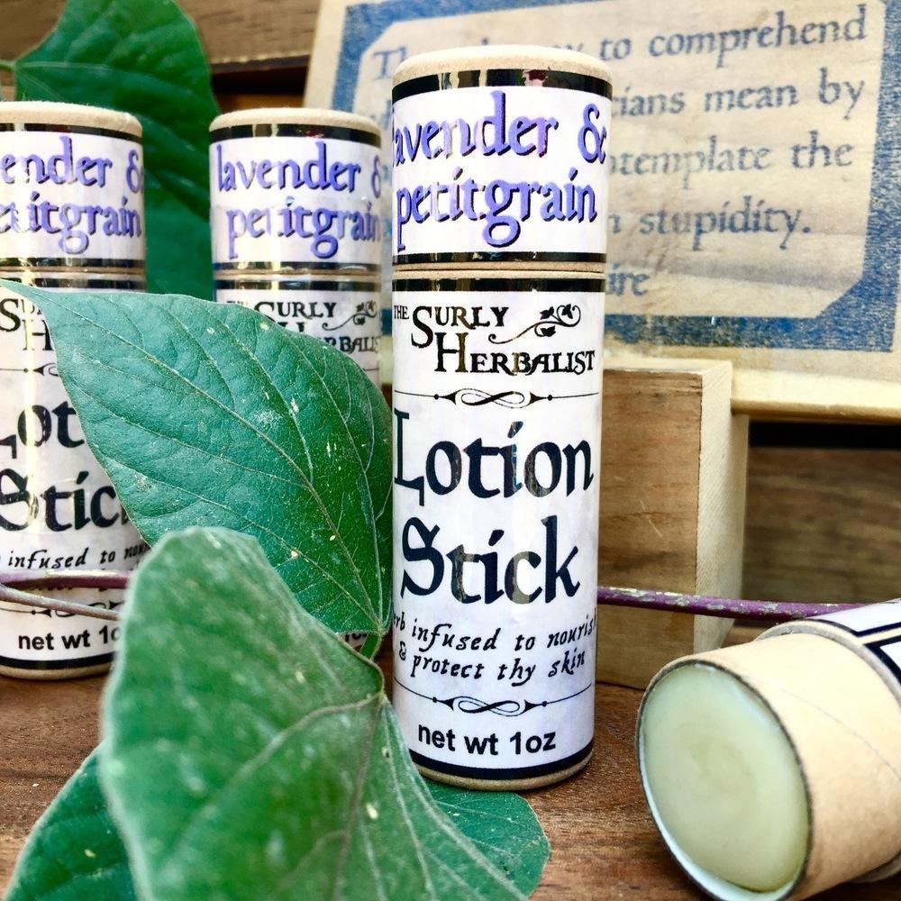 Lotion Stick - Lavender & Petitgrain