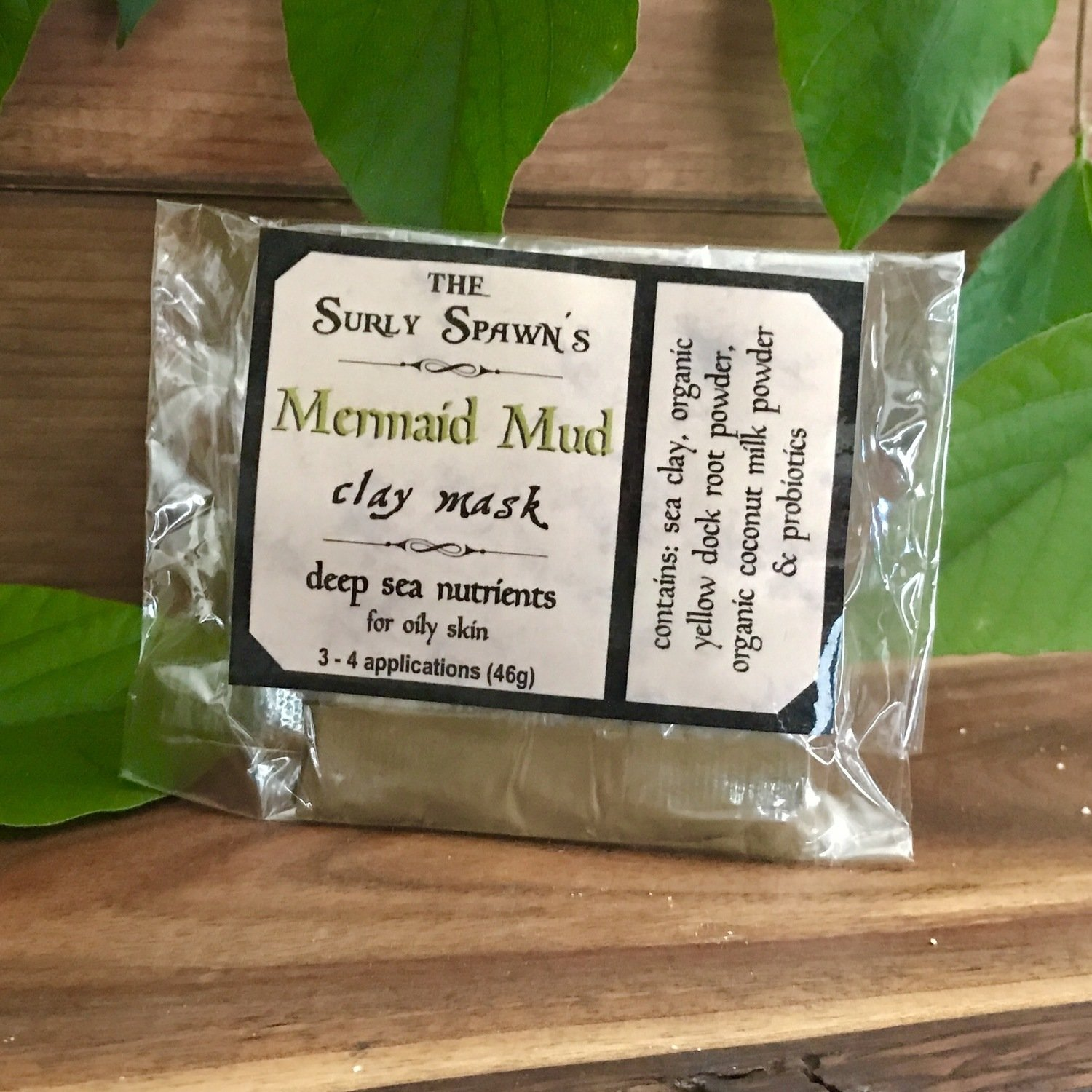 Mermaid Mud - Deep Sea Nutrient Clay Mask