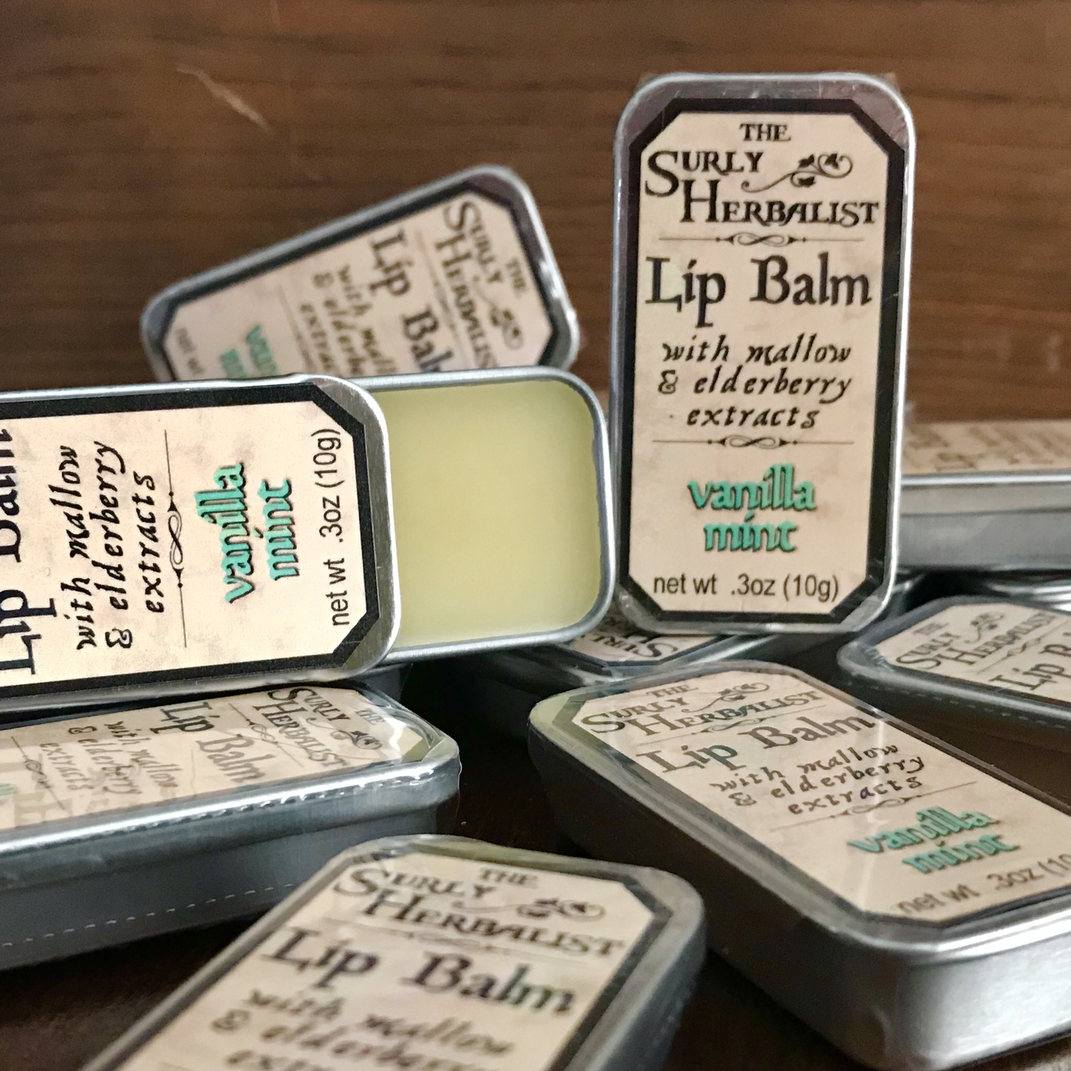 Lip Balm - Vanilla Mint