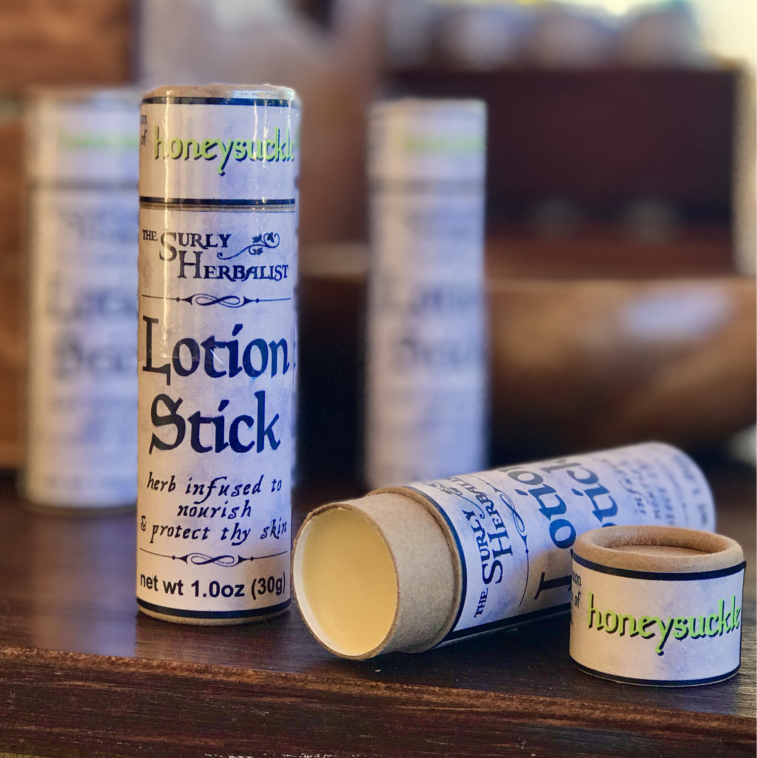 Lotion Stick - Honeysuckle
