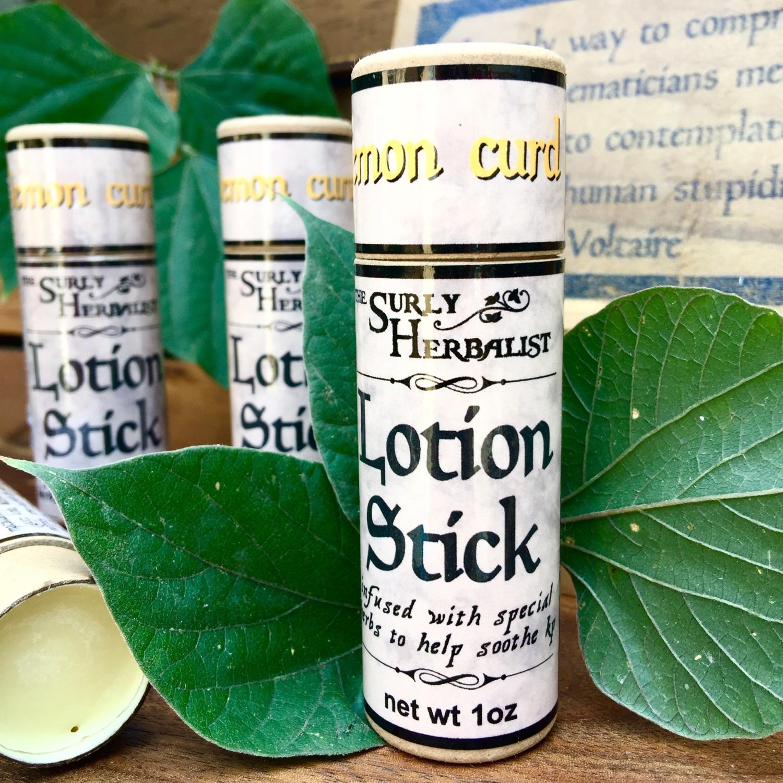 Lotion Stick - Lemon Curd - 3oz