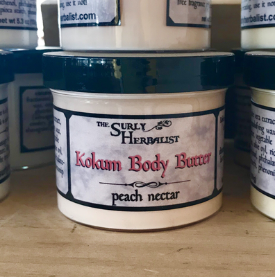 Kokum Body Butter - Peach Nectar