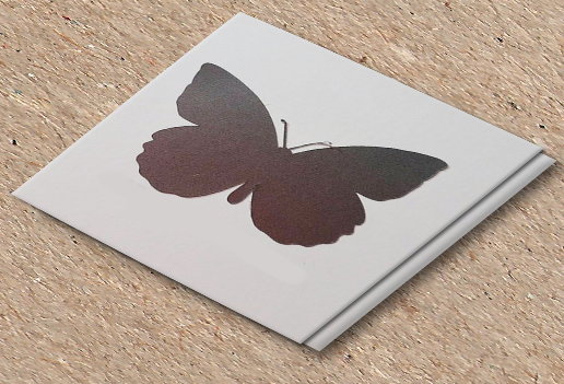 Butterfly scratch off stickers, set of 100 00052