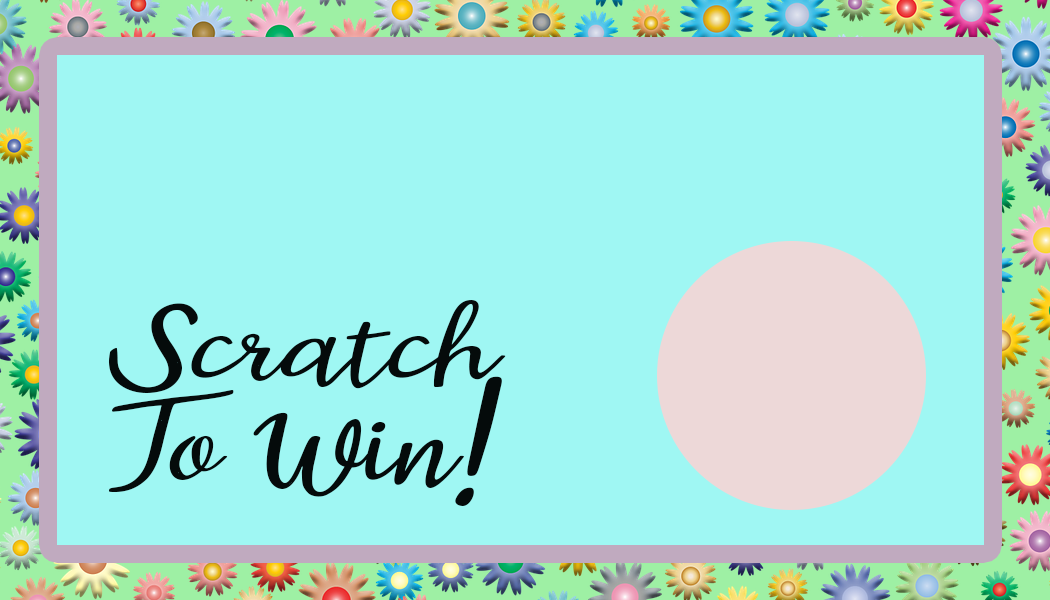Pastel scratch off card- free printable Pas