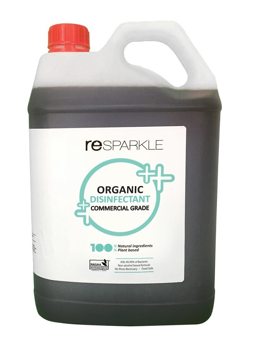Resparkle - Organic Disinfectant - 5L (with spray bottle)