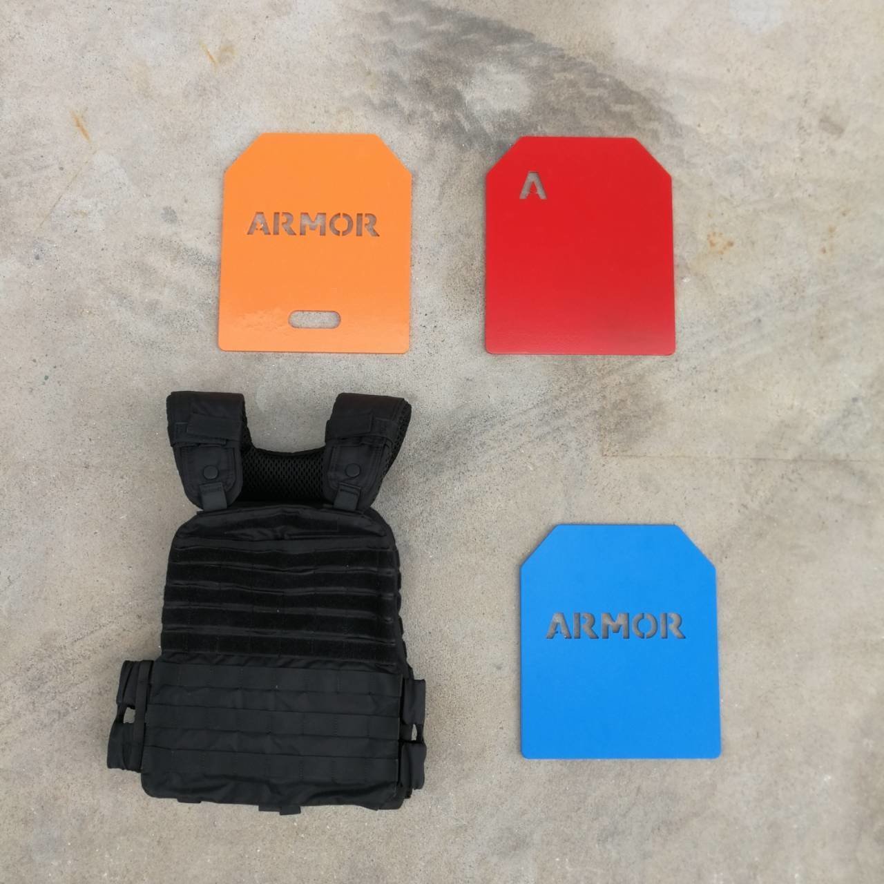 ARMOR WEIGHT VEST WITH PLATE