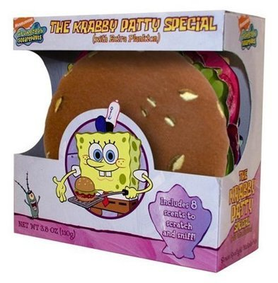 The Krabby Patty Special (with extra plankton)