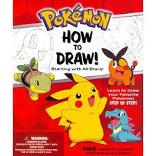 Pokemon How-To-Draw Kit Starting With All-Stars