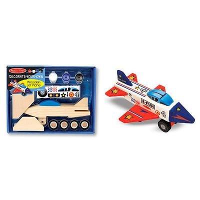 Wooden Jet Plane - DYO
