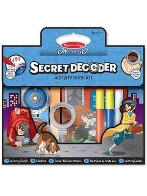 Secret Decoder Activity Book Kit