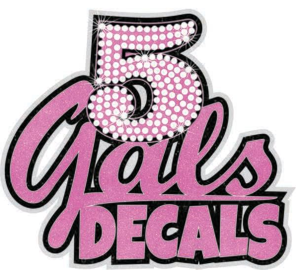 5 Gals Decals